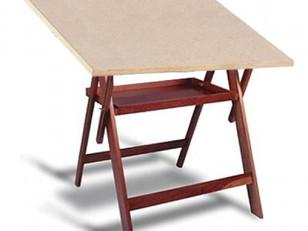 Qual a importância de ter uma mesa ou prancheta de desenho? Como e onde posso adquirir uma?