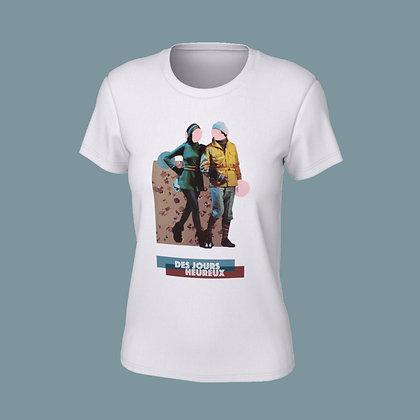 T-Shirt femme - Des jours heureux