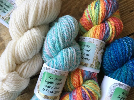 Get creative with Falklands wool!