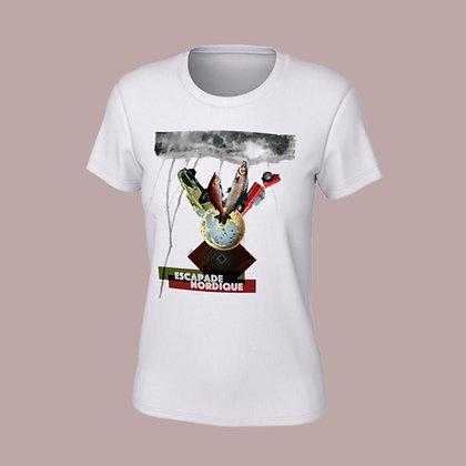 T-Shirt femme - Escapade nordique
