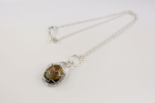 Falklands Pebble Necklace