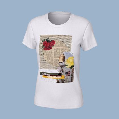 T-Shirt femme - Fuir le quotidien