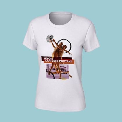 T-Shirt femme - Savoir capturer l'instant