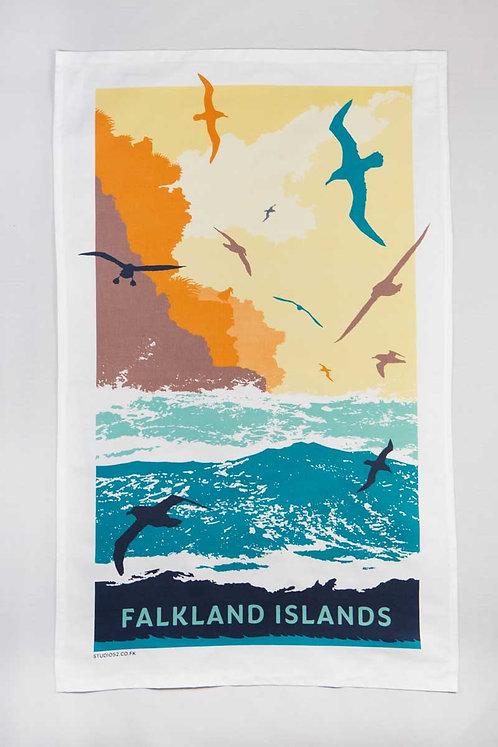 Tea Towel – Black-browed Albatross