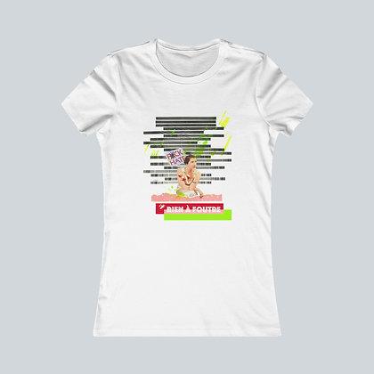 T-Shirt femme - Rien à foutre