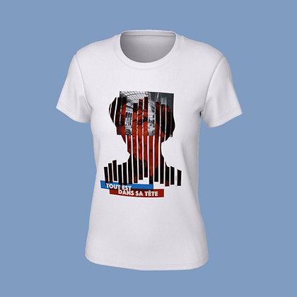 T-Shirt femme - Tout est dans sa tête