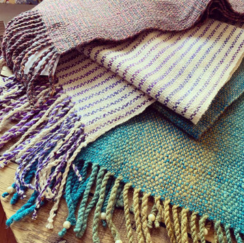 Falkland woollen scarves