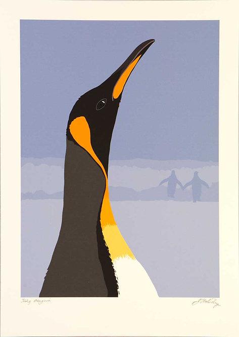 Fine Art Print – King Penguin