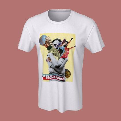 T-Shirt (unisex) - Elle en a plein les bras