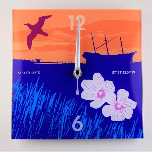 Acyrilic Clock - Lady Elizabeth