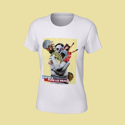 T-Shirt femme - Elle en a plein les bras