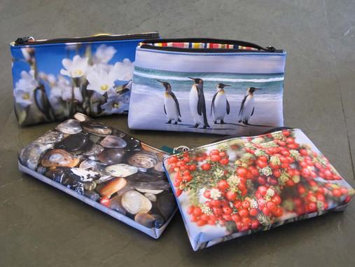 Photographic printed purses