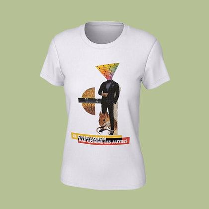 T-Shirt femme - Ce compagnon pas comme les autres