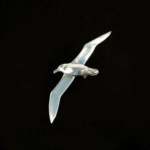 Black-browed albatross brooch
