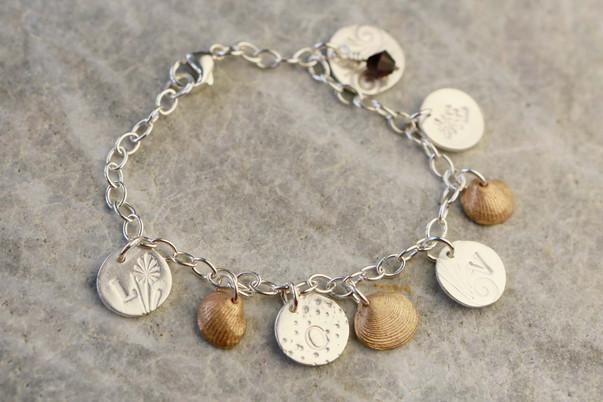 Hand made charm bracelet
