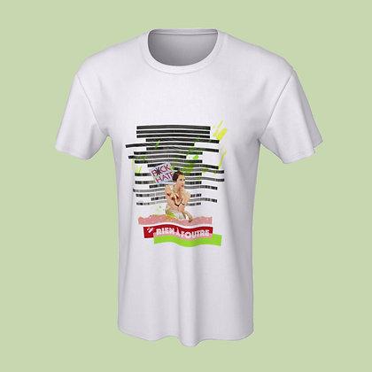 T-Shirt (unisex) - Rien à foutre