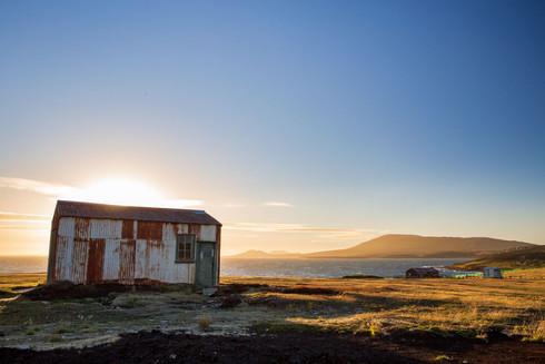 Pebble-Island shed