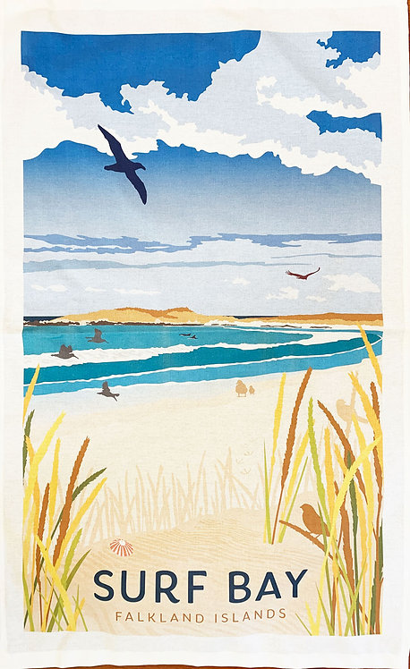 Tea Towel – Surf Bay