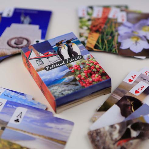 Falklands playing cards