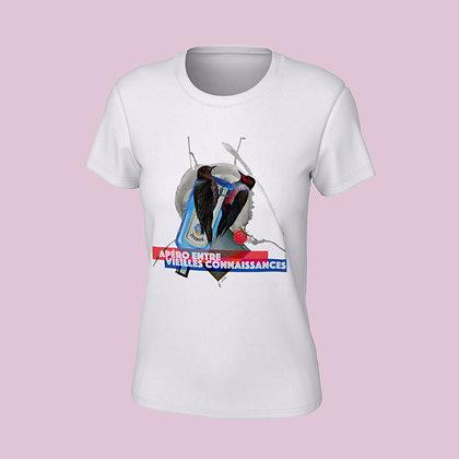 T-Shirt femme - Apéro entre vieilles connaissances