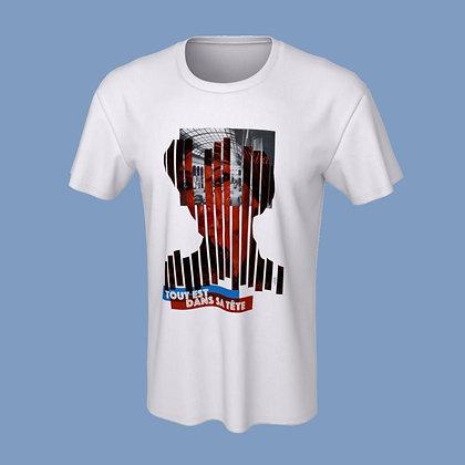 T-Shirt (unisex) - Tout est dans sa tête