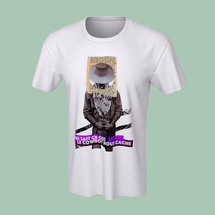 T-Shirt (unisex) - Qui sait ce que le cowboy nous cache