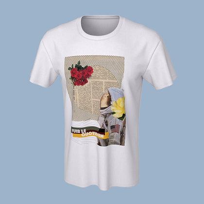T-Shirt (unisex) - Fuir le quotidien