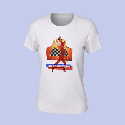 T-Shirt femme - Disco bowling