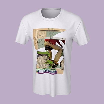 T-Shirt (unisex) - Le vélo, c'est bon pour le cardio