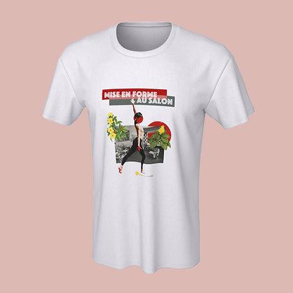 T-shirt (unisex) - Mise en forme au salon
