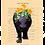 Thumbnail: Coton ouaté (unisex) - L' hippopotame, cet animal féroce