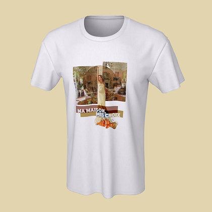 T-shirt (unisex) - Ma maison, mes choix