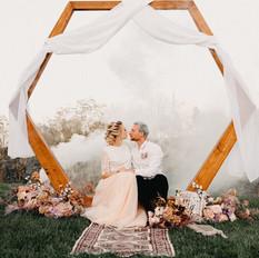 Celestial Boho / Vegan Wedding