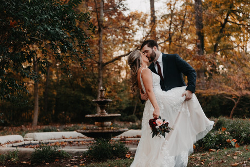 D&B: Autumn Wedding, The Liriodendron Mansion - Bel Air, MD