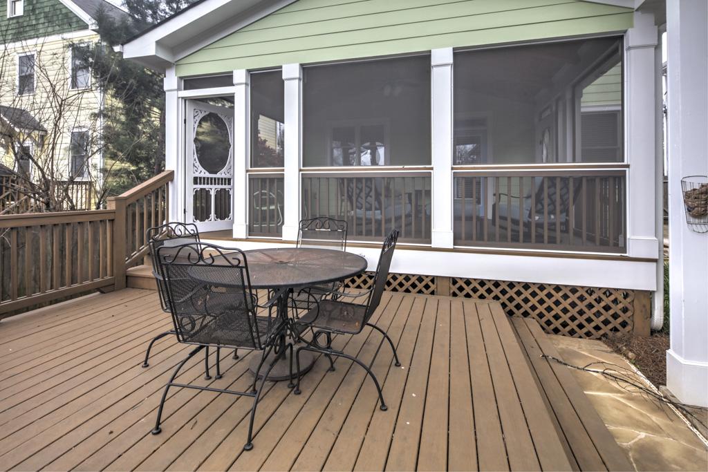 Georgia Ave Screened Porch