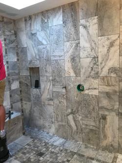Judith Way Tile installation