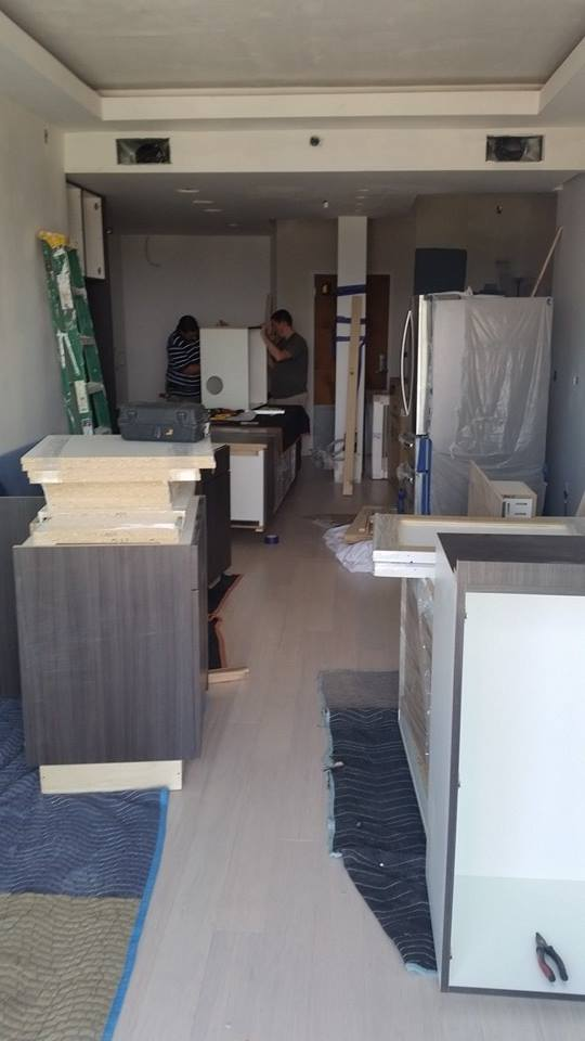 Arrival of Cabinetry