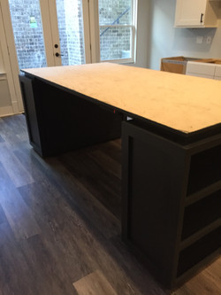 Custom Craft table install