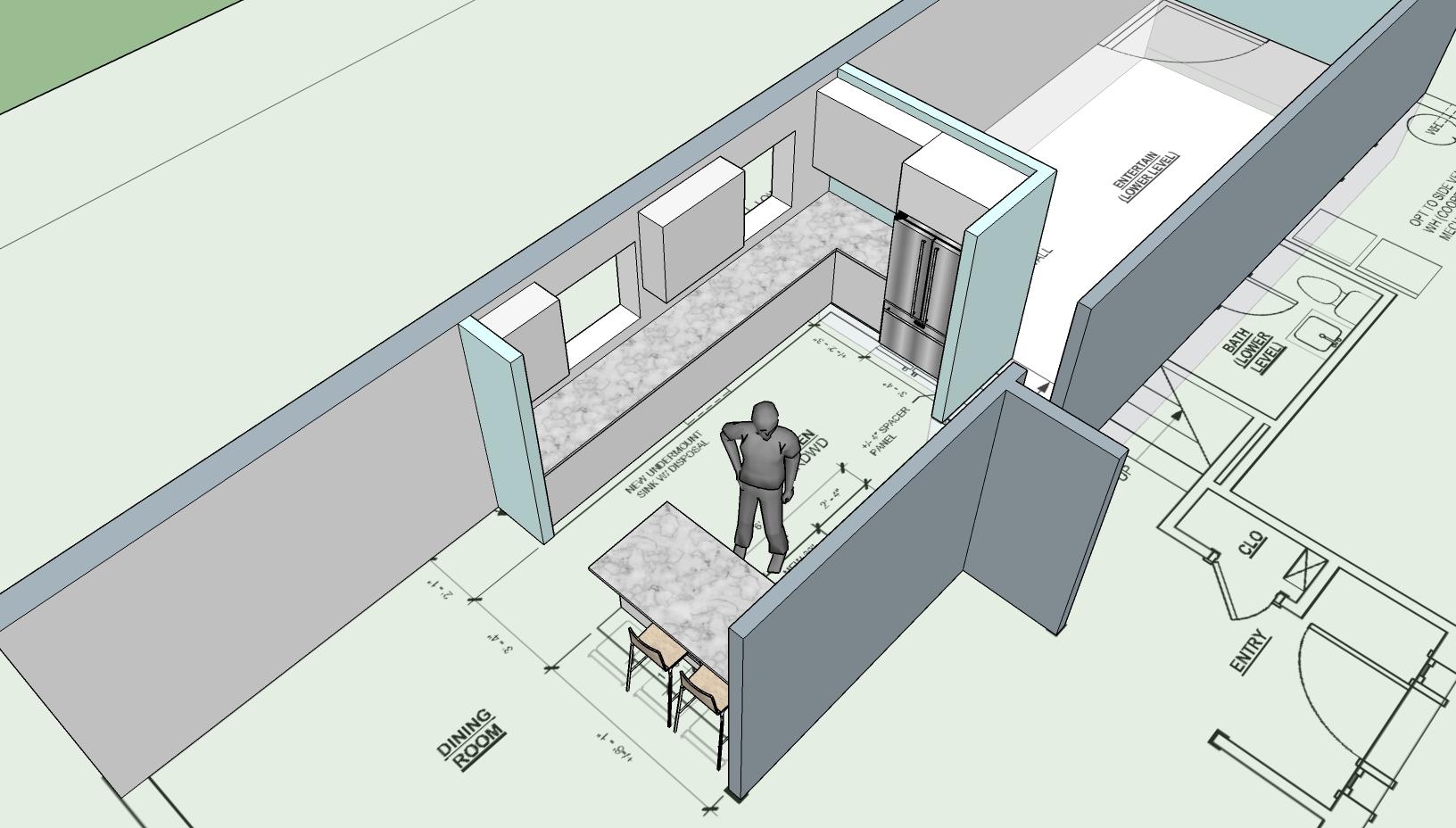 Kitchen Sketch - 4