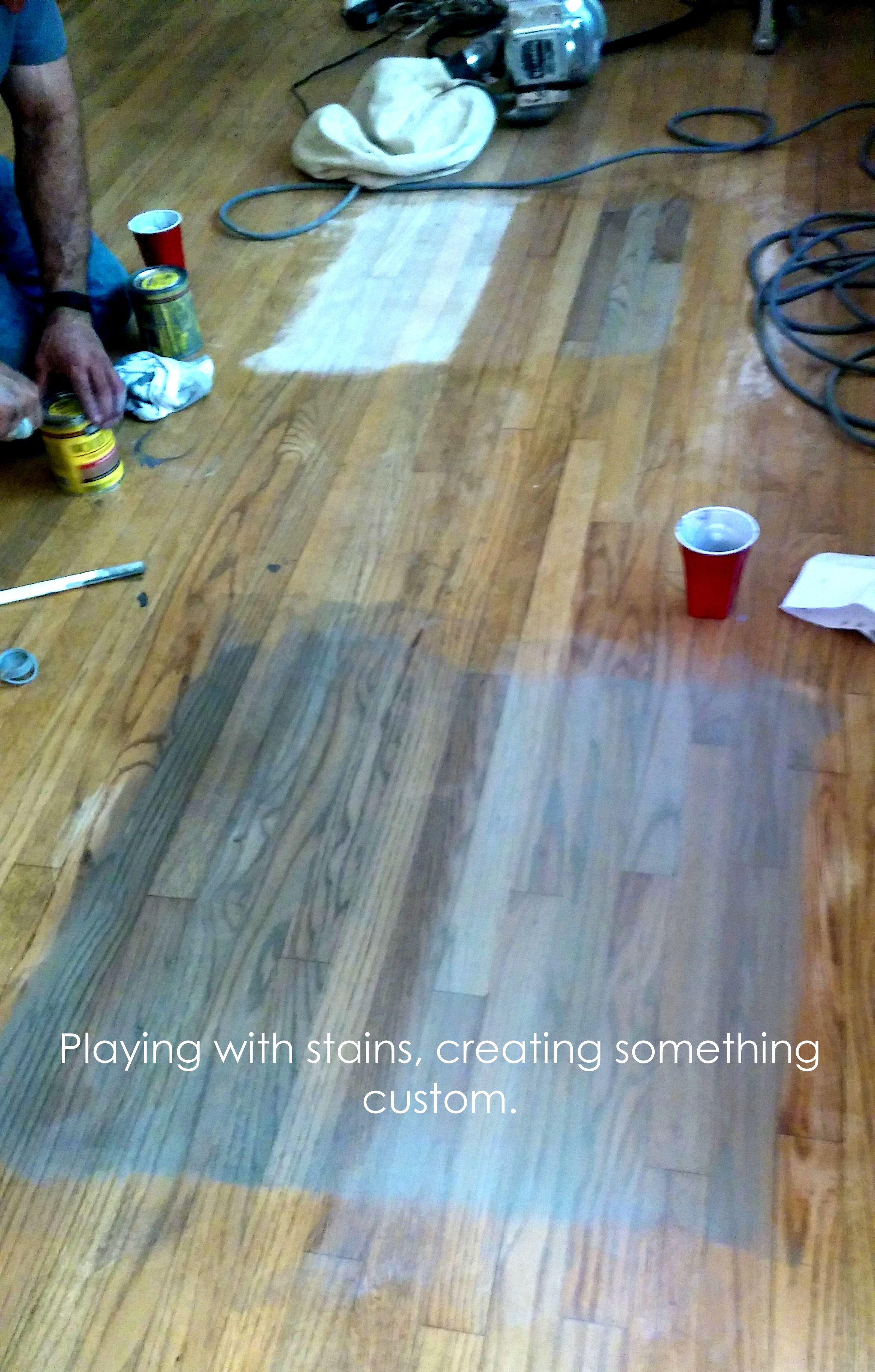Creating Custom Stain