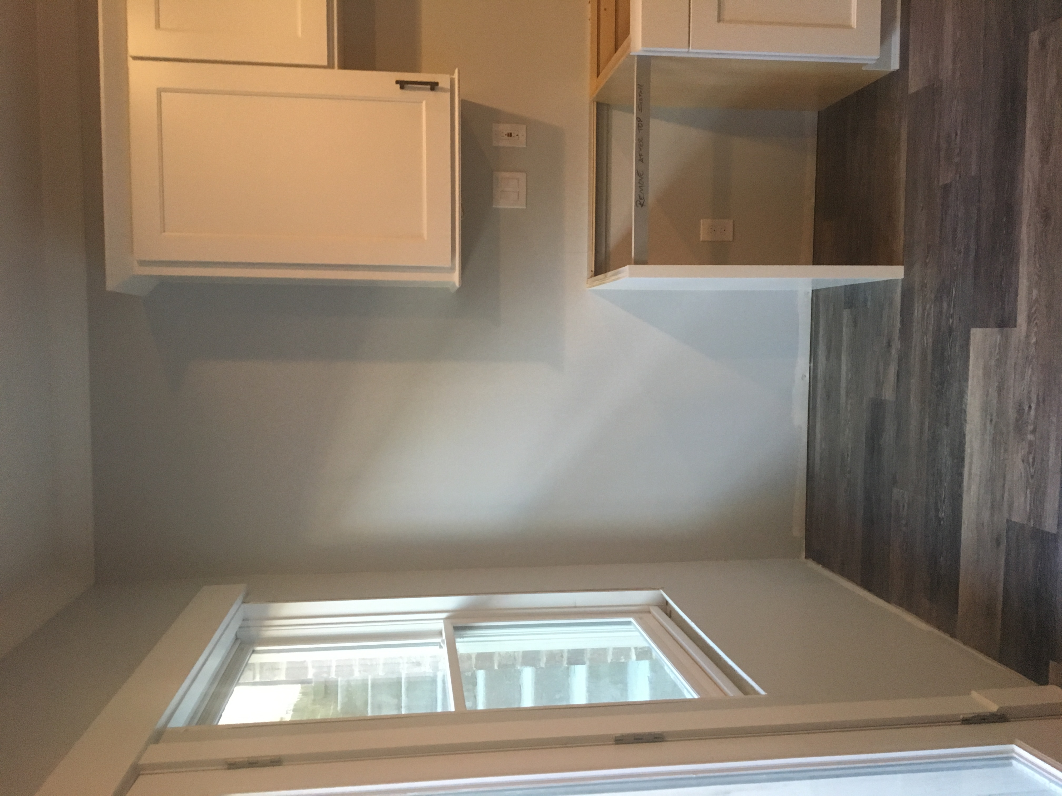 Cabinetry install