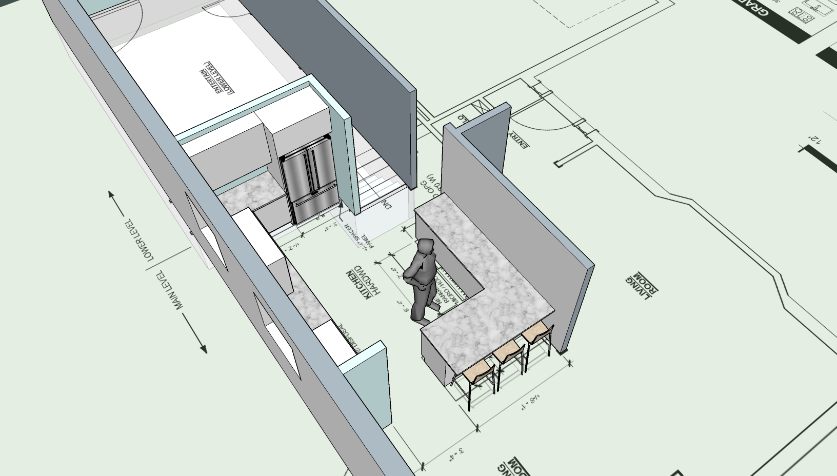 Kitchen Sketch - 2