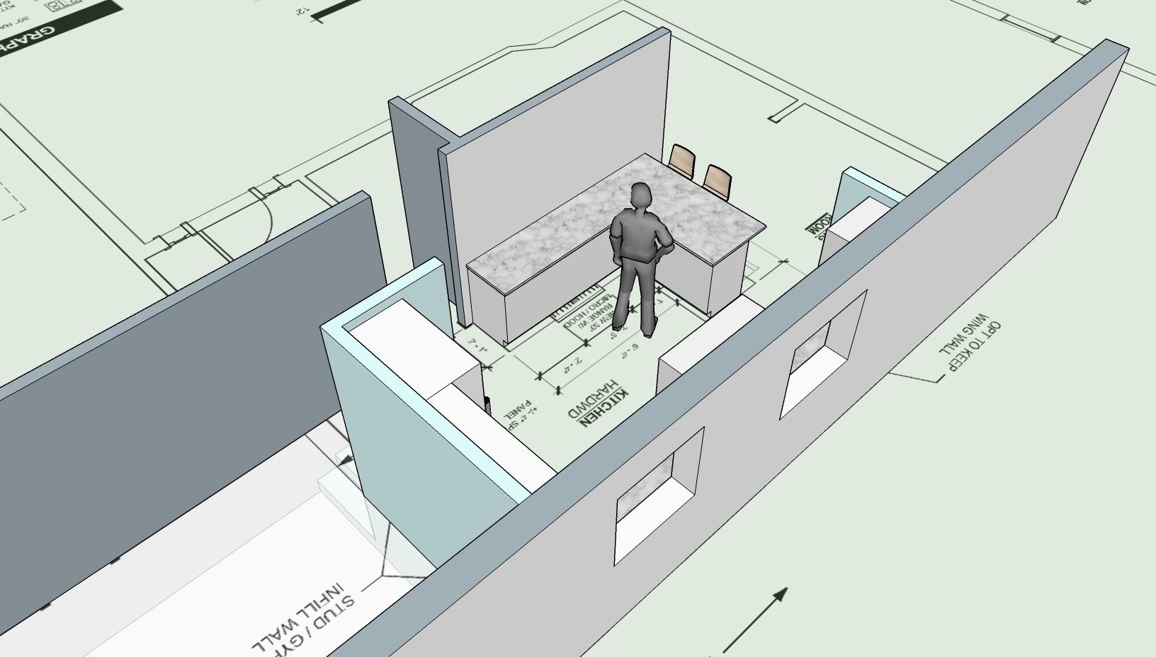 Kitchen Sketch - 6