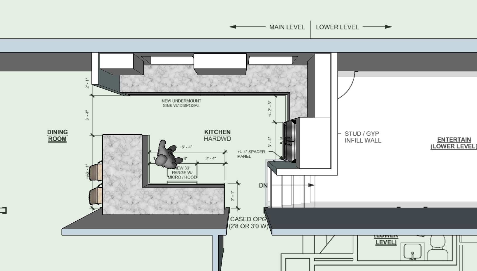 Kitchen Sketch - 5