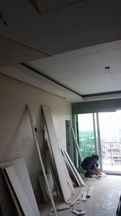 Floating Ceiling Installed