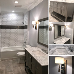 A Bathroom Collage