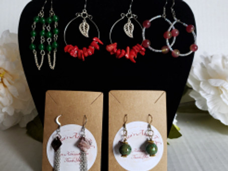 New Beaded Jewelry for October