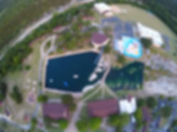 Ariel View of Glen Lake Camp and Retreat Center
