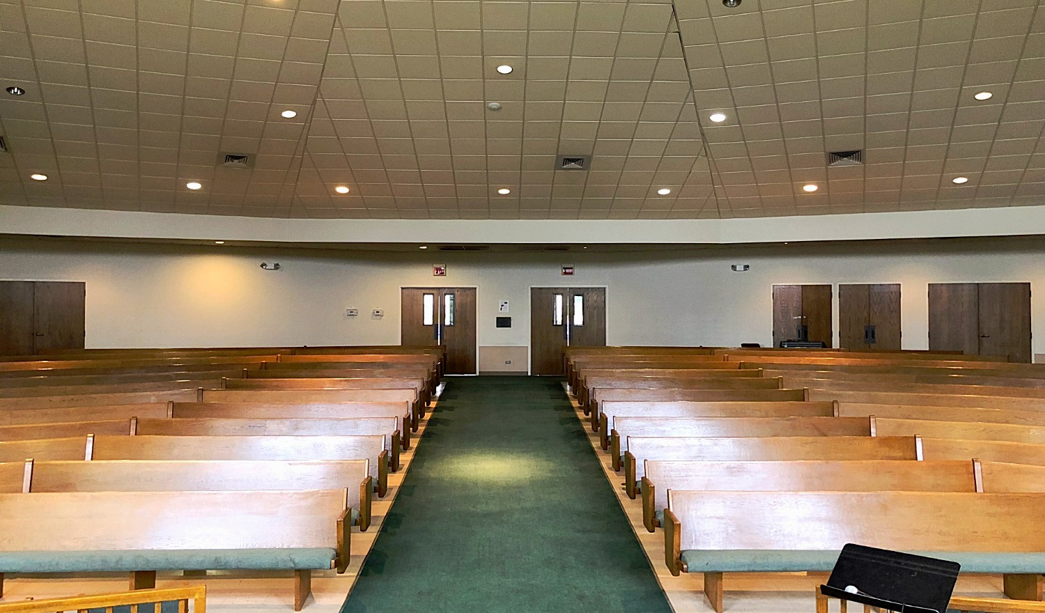 Ogle Chapel from Stage | Glen Lake Camp and Retreat Center