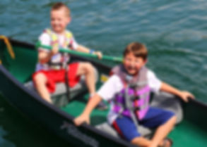 Glen Lake Camp and Retreat Center | Summer Camp | 1st-3rd Graders | Children | Canoes